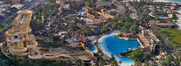 Wild Wadi. Тематический аквапарк в Дубае. Место для отдыха и веселья
