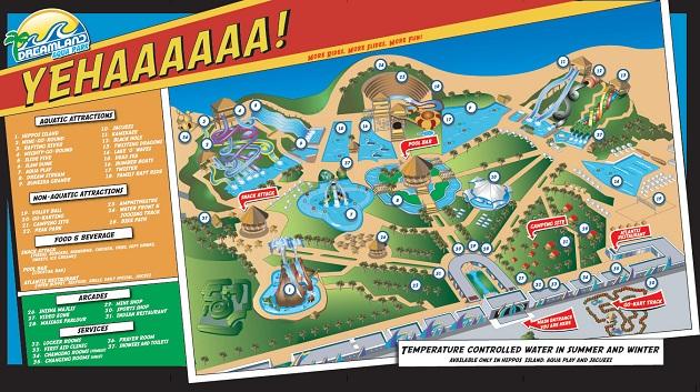 Dreamland история радушности этого аквапарка насчитывает уже 15 лет