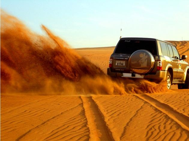 Песчаное море ожидает смельчаков