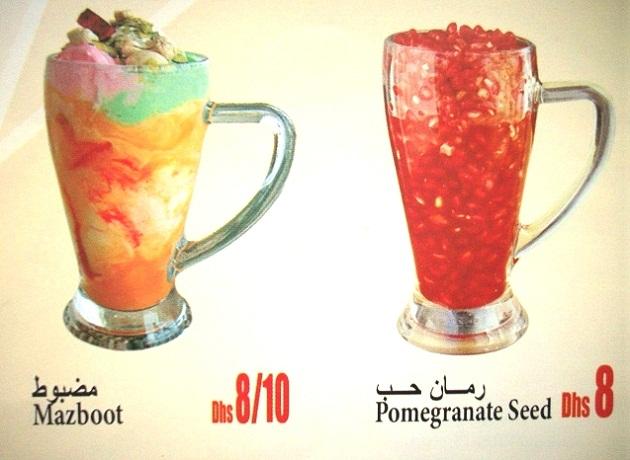 Детям наверняка придется по вкусу один из свежевыжетых соков, который в ОАЭ можно найти даже в самой маленькой кафешке