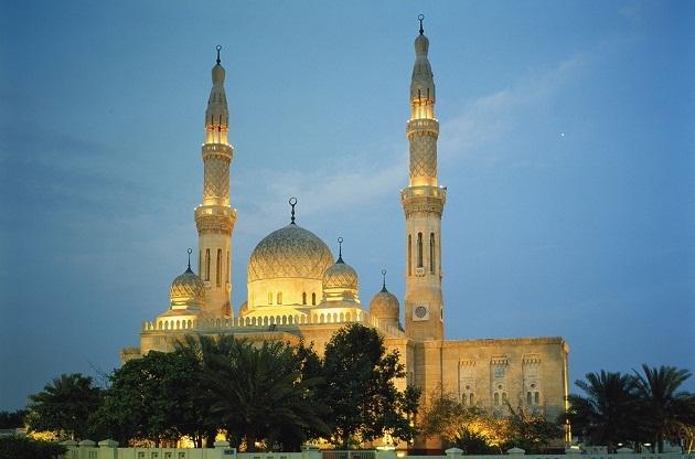 Центральная мечеть в эмирате Шарджа
