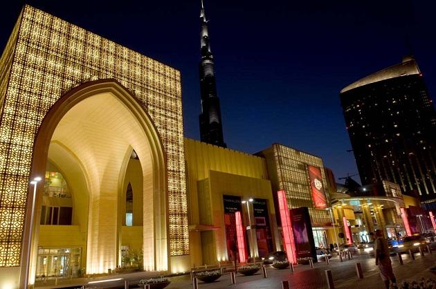 The Dubai Mall. Огромный торговый центр у подножия самого высого здания в мире