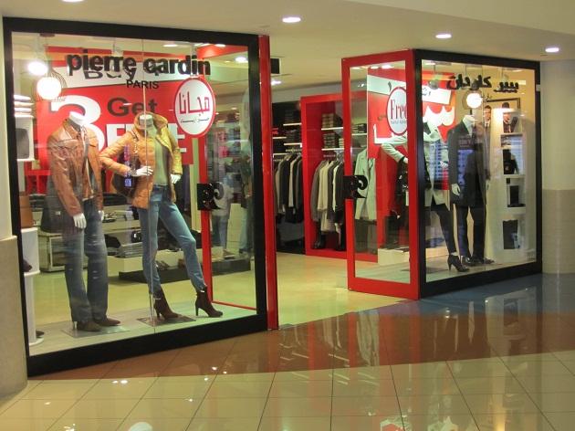 Один из брендовых магазинов в ОАЭ. 75% скидки круглый год