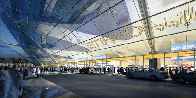 Третий терминал аэропорта Абу-Даби. Обслуживает только рейсы авиакомпании Этихад