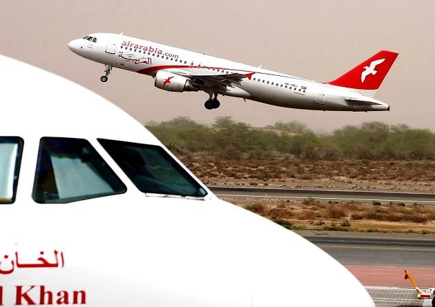 Аир Арабиа авиакомпания Эмирата Шарджа, летающая по сестеме лоукост